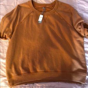 Aerie short sleeved sweater